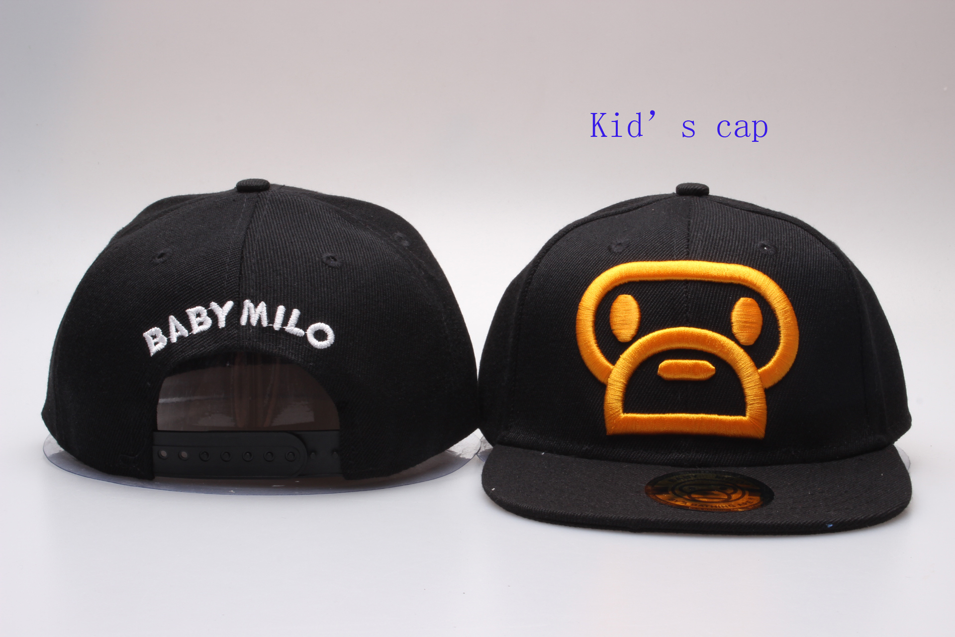 Baby Milo Logo Kid's Snapback Adjustable Hat YP