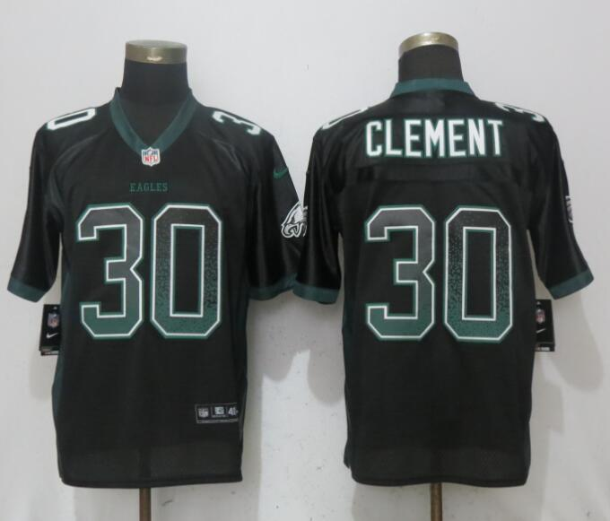 Nike Eagles 30 Corey Clement Black Drift Fashion Elite Jersey