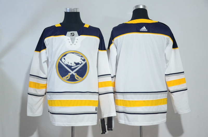 Sabres Blank White Adidas Jersey