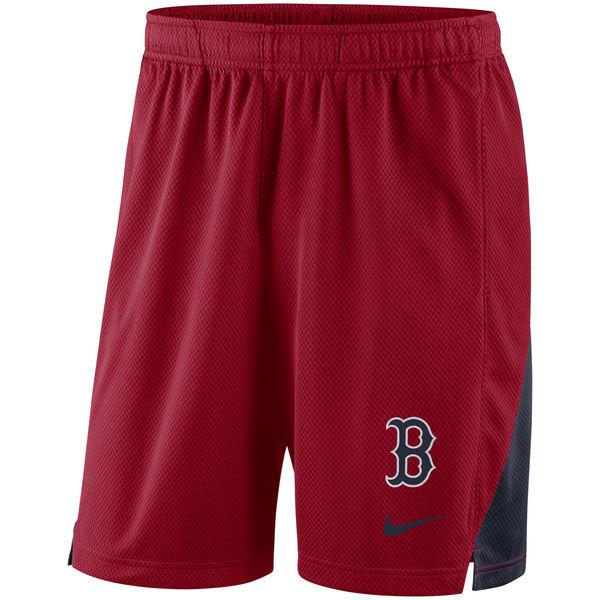 Men's Boston Red Sox Nike Red Franchise Performance Shorts
