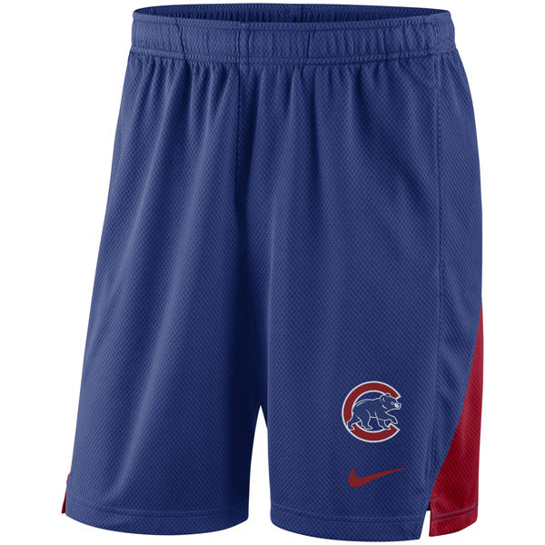 Men's Chicago Cubs Nike Royal Franchise Performance Shorts