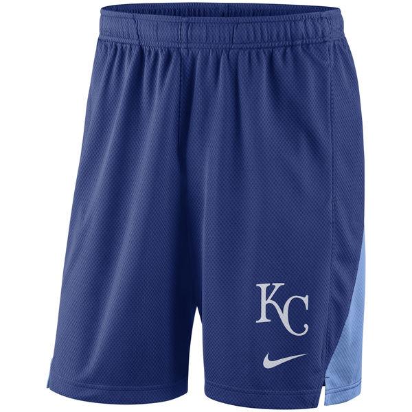 Men's Kansas City Royals Nike Royal Franchise Performance Shorts
