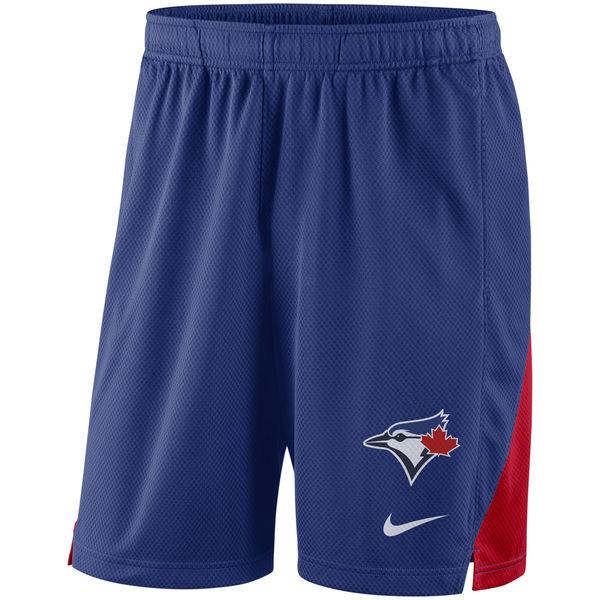 Men's Toronto Blue Jays Nike Royal Franchise Performance Shorts