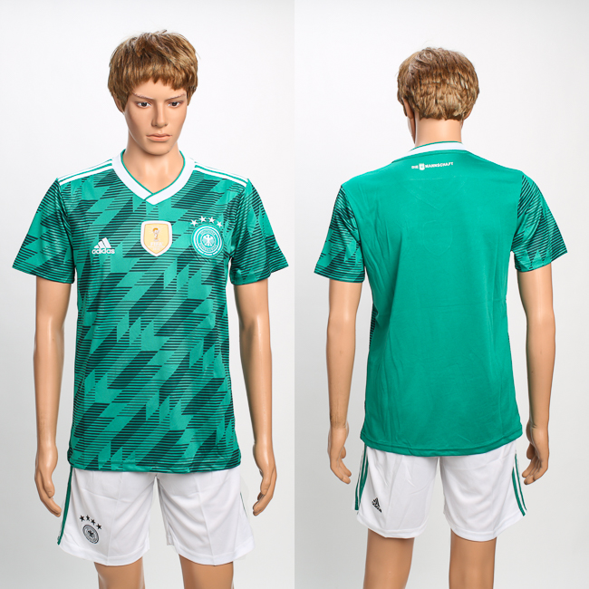 Germany Away 2018 FIFA World Cup Soccer Jersey