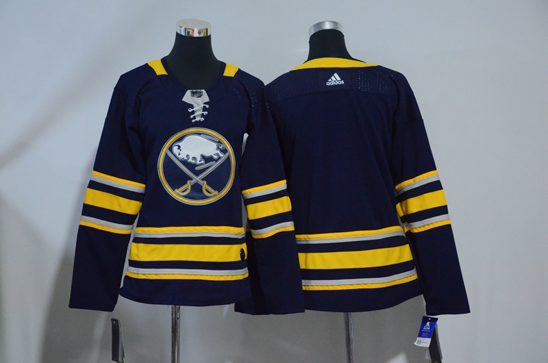 Sabres Blank Navy Youth Adidas Jersey