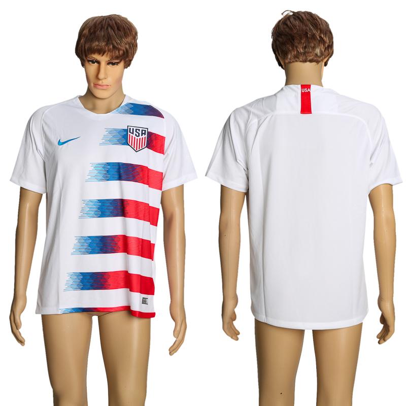 2018-19 USA Home Thailand Soccer Jersey