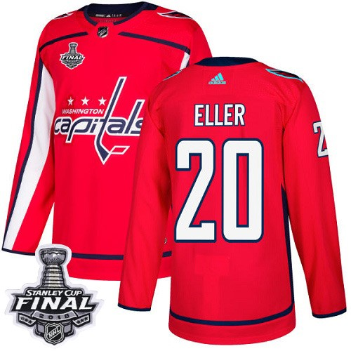 Capitals 20 Lars Eller Red 2018 Stanley Cup Final Bound Adidas Jersey