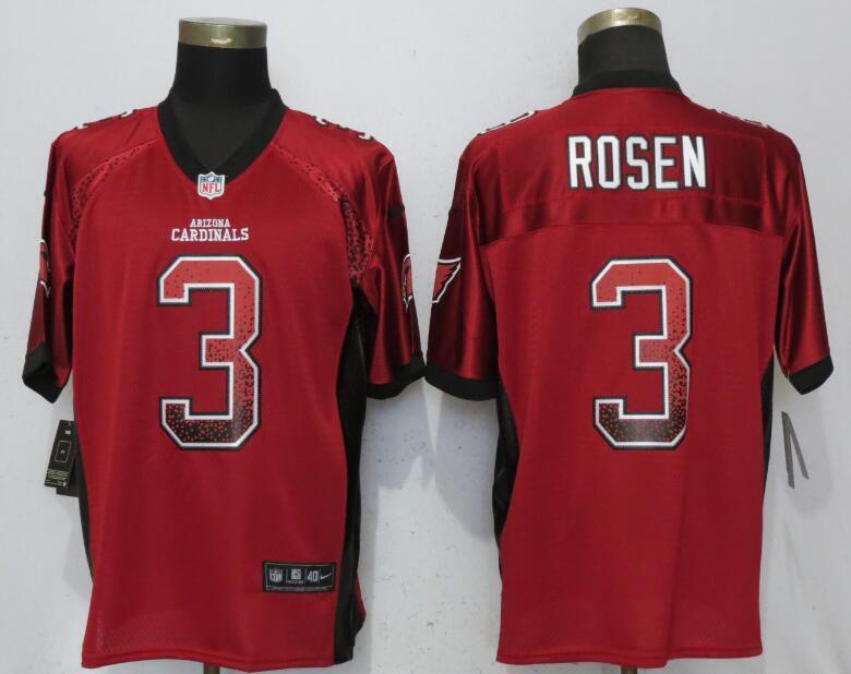Nike Cardinals 3 Josh Rosen Red Drift Fashion Elite Jersey