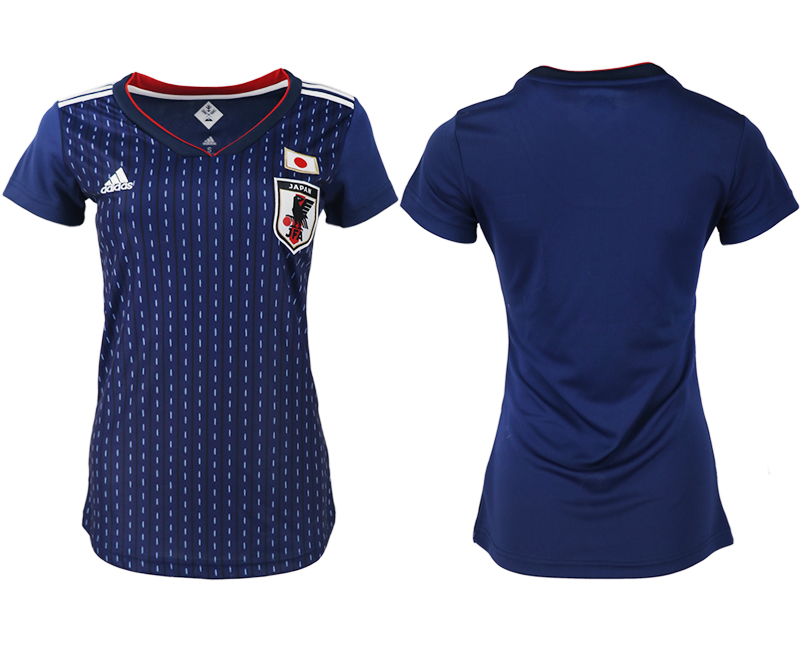 Japan Home Women 2018 FIFA World Cup Soccer Jersey