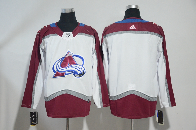 Avalanche Blank White Adidas Jersey