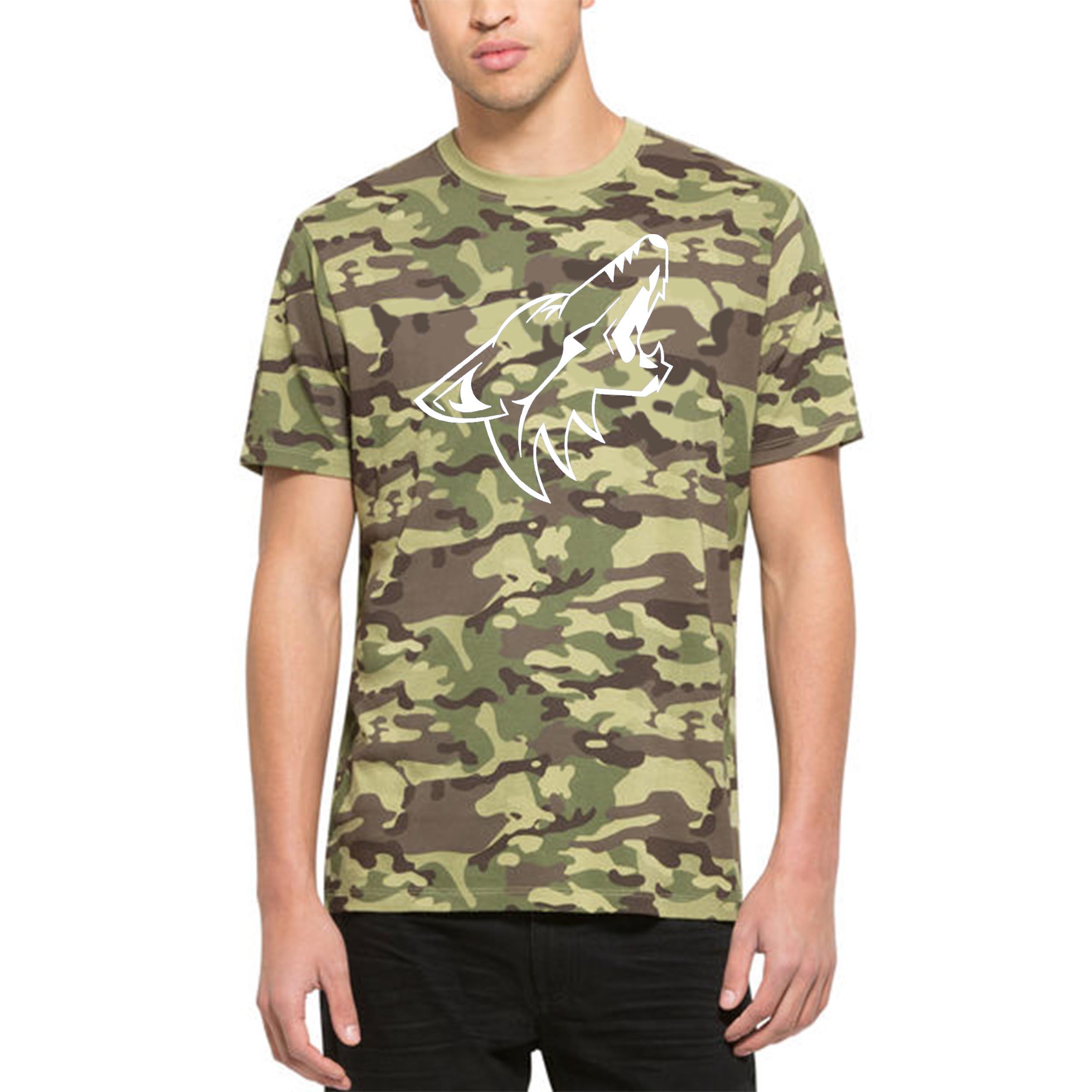 Arizona Coyotes '47 Alpha T-Shirt Camo
