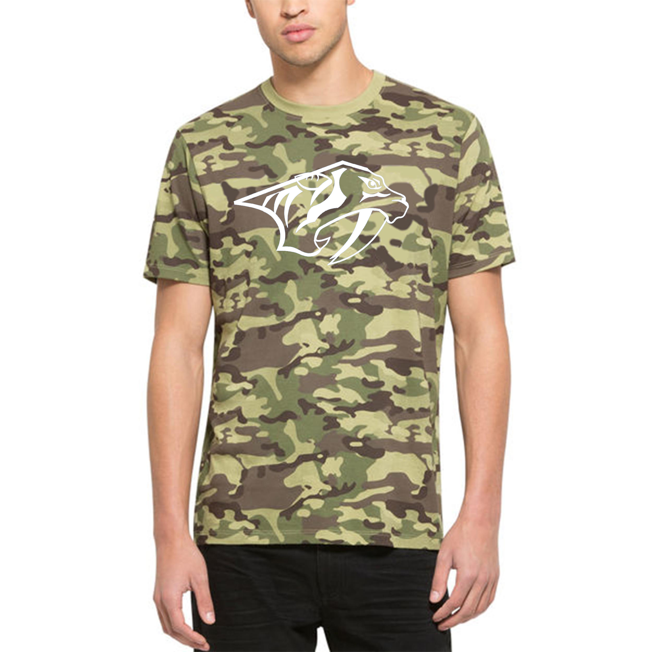 Nashville Predators '47 Alpha T-Shirt Camo