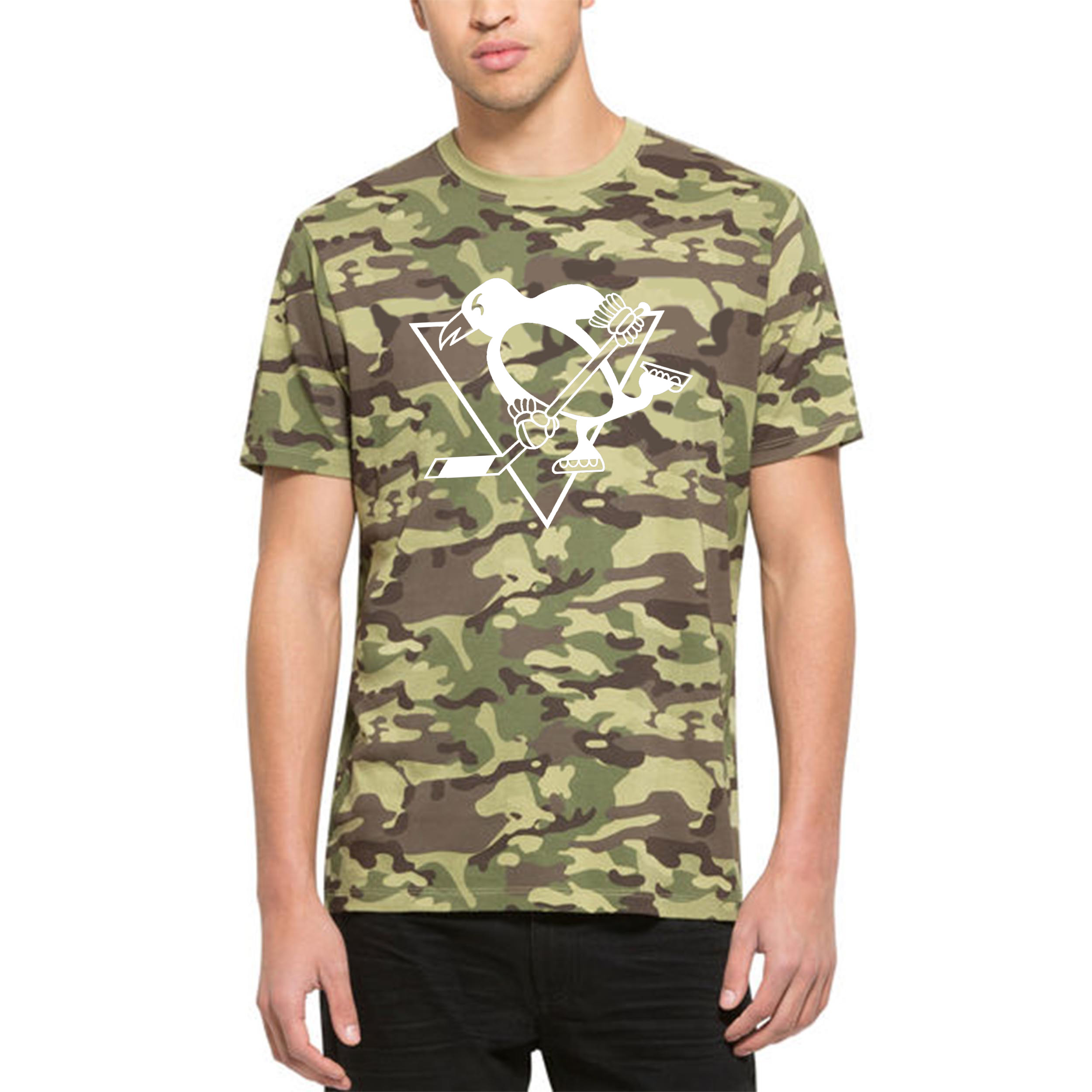 Pittsburgh Penguins '47 Alpha T-Shirt Camo