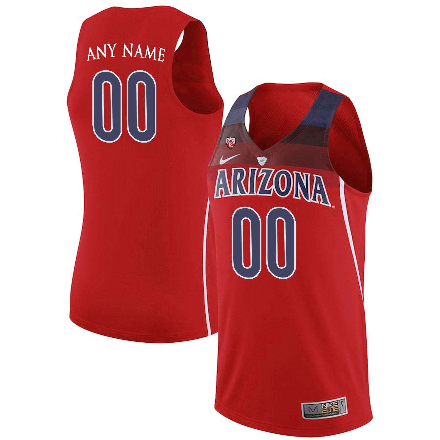 Arizona Wildcats Red Men's Custom College Basketball Jersey