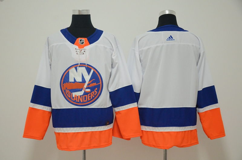 Islanders Blank White Adidas Jersey
