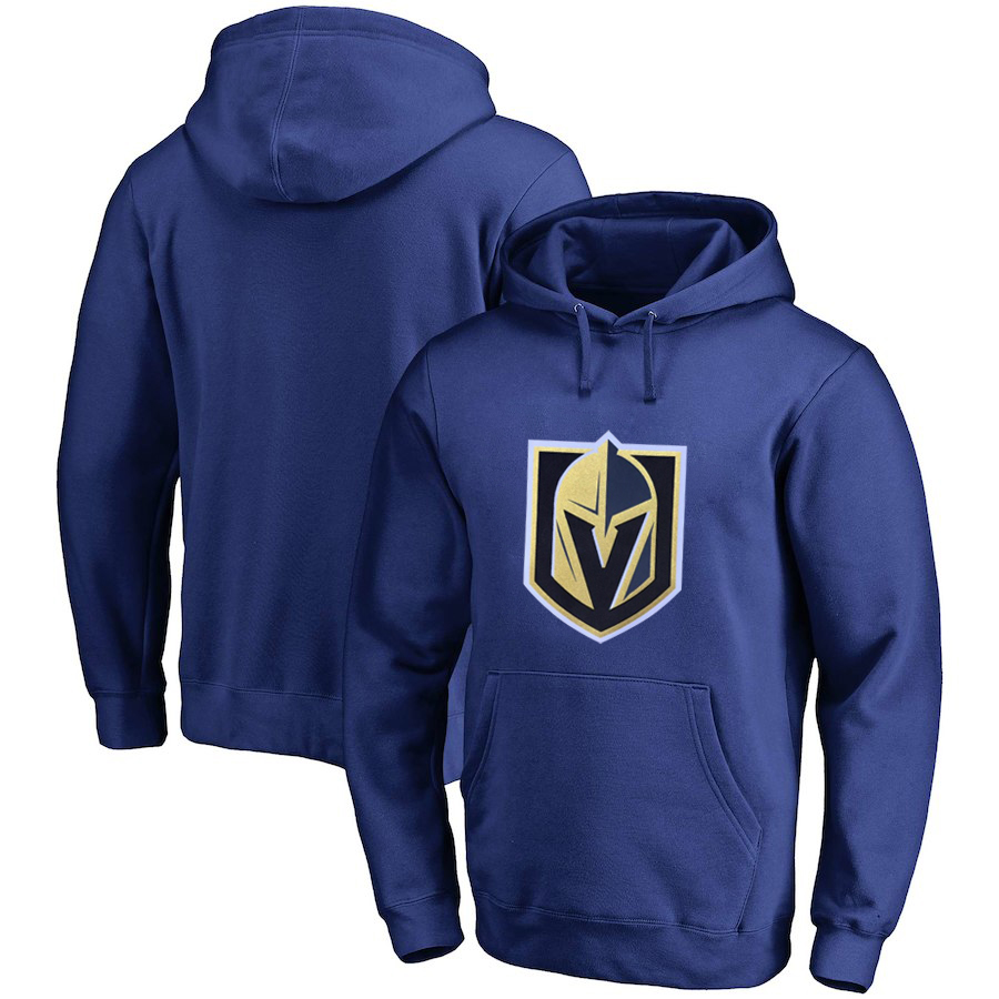 Vegas Golden Knights Blue All Stitched Pullover Hoodie