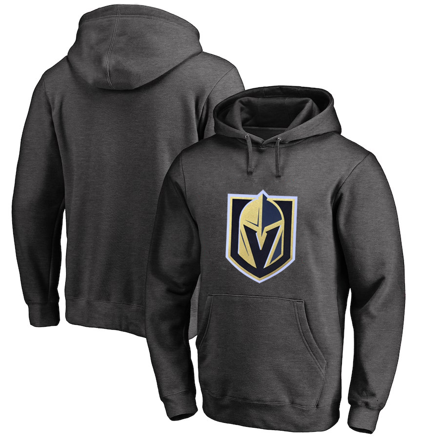 Vegas Golden Knights Dark Gray All Stitched Pullover Hoodie