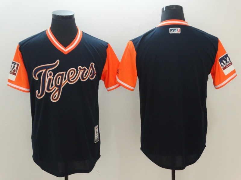 Tigers Navy 2018 Players' Weekend Authentic Team Jersey
