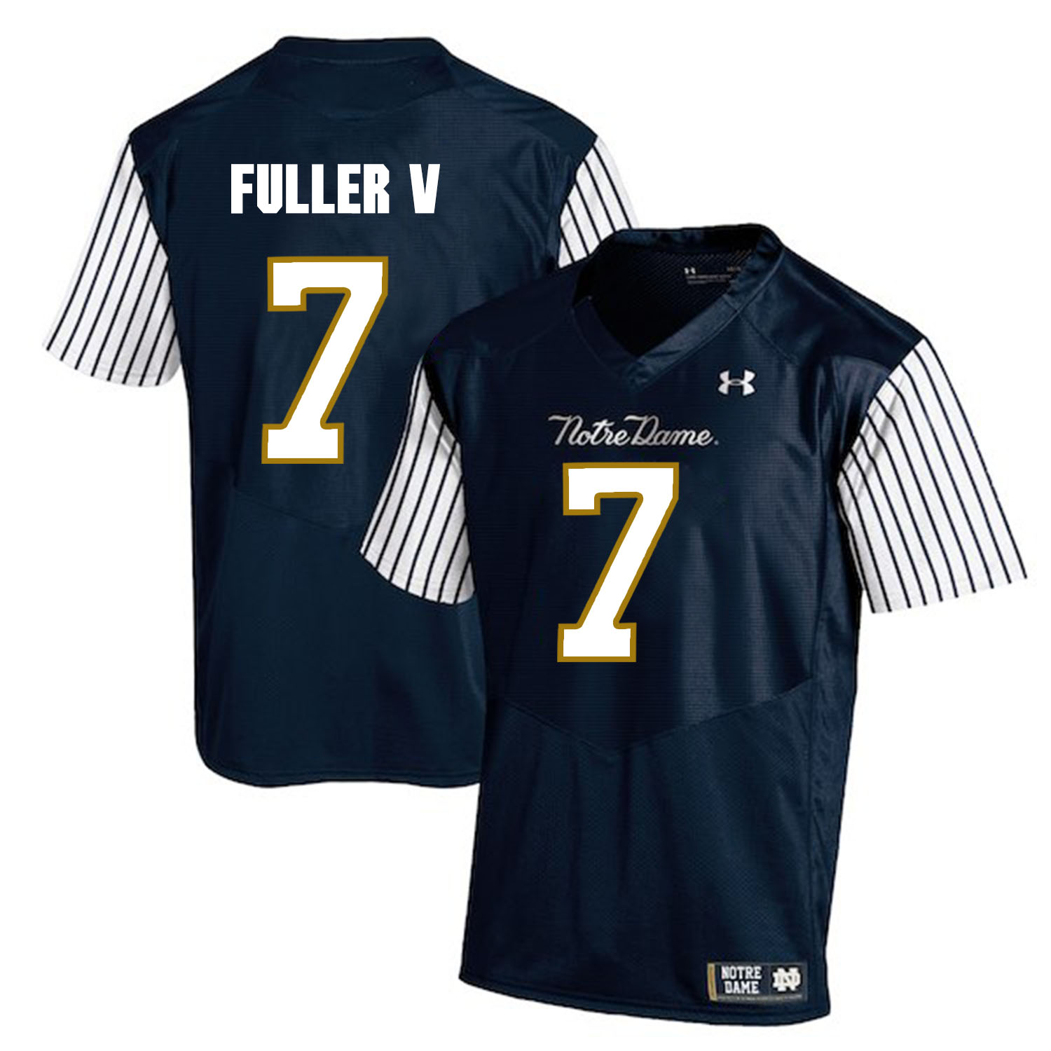 Notre Dame Fighting Irish 7 Will Fuller V Navy College Football Jersey