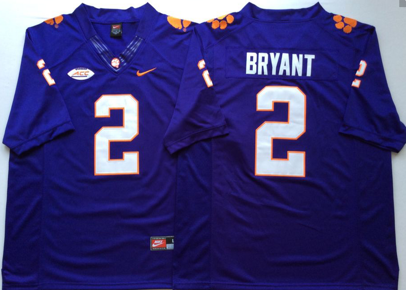 Clemson Tigers 2 Kelly Bryant Nike Elite College Football Jersey
