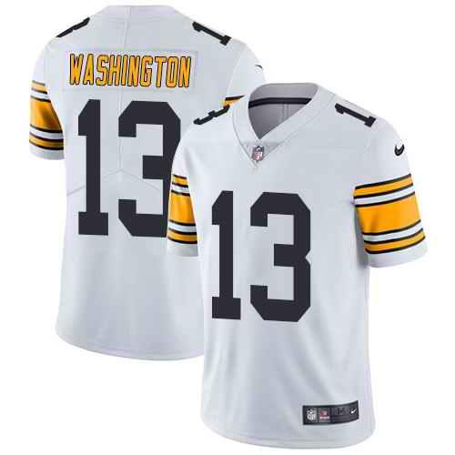 Nike Steelers 13 James Washington White Youth Vapor Untouchable Limited Jersey
