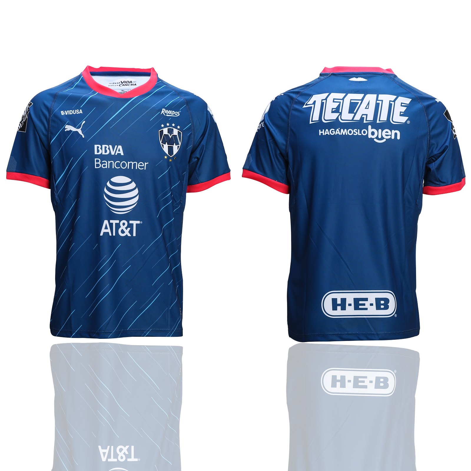 2018-19 Monterey Away Thailand Soccer Jersey