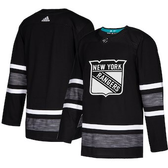 Rangers Black 2019 NHL All-Star Game Adidas Jersey