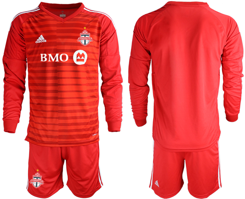2018-19 Toronto FC Red Long Sleeve Soccer Jersey