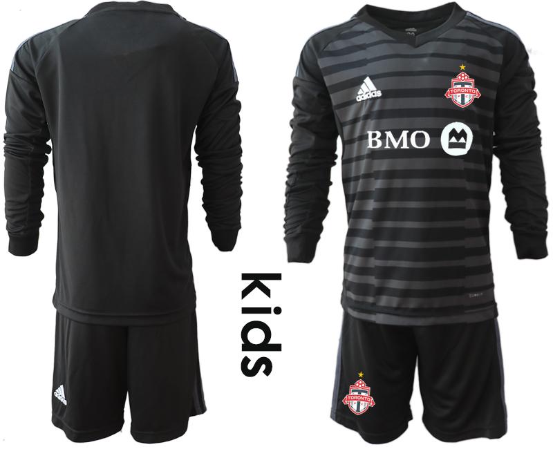 2018-19 Toronto FC Black Youth Long Sleeve Soccer Jersey