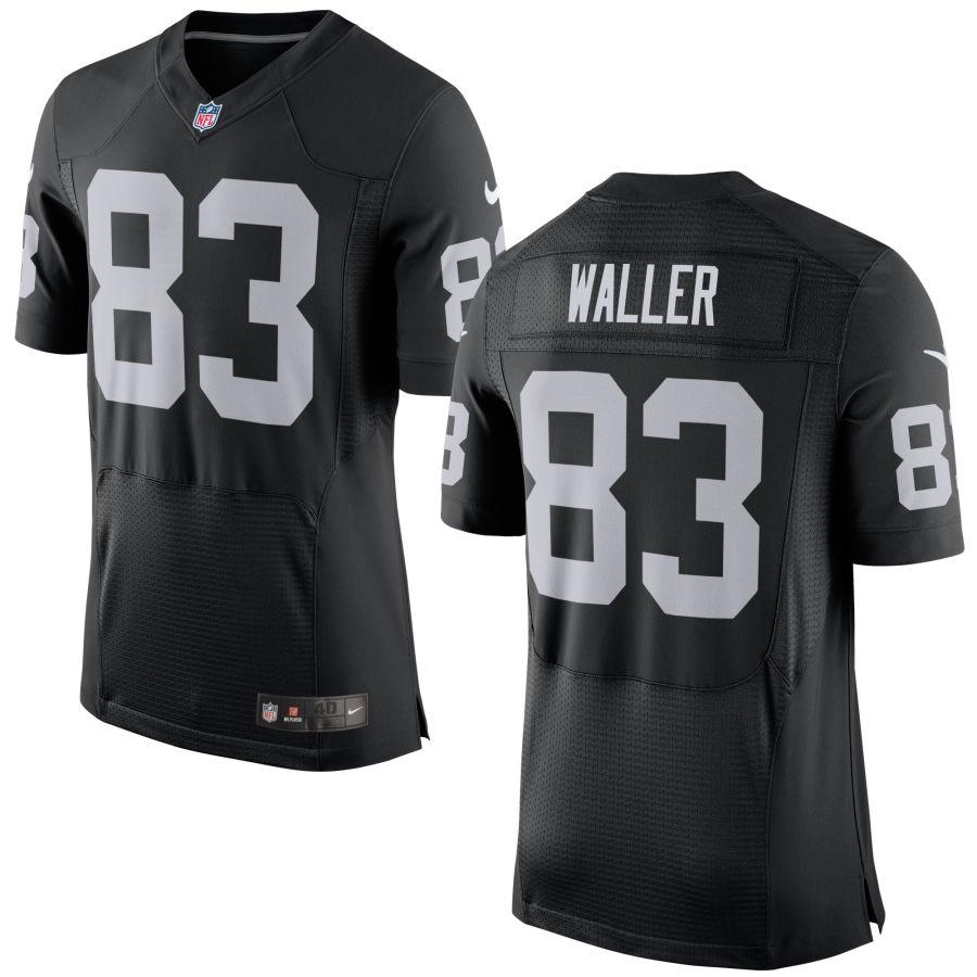 Nike Raiders 83 Darren Waller Black Elite Jersey