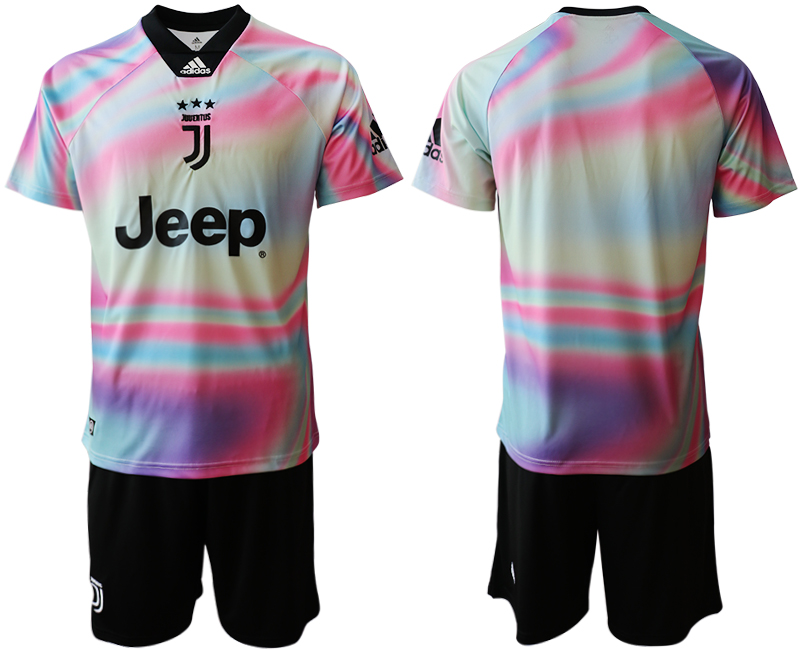 2018-19 Juventus Maglia EA SPORTS Soccer Jersey