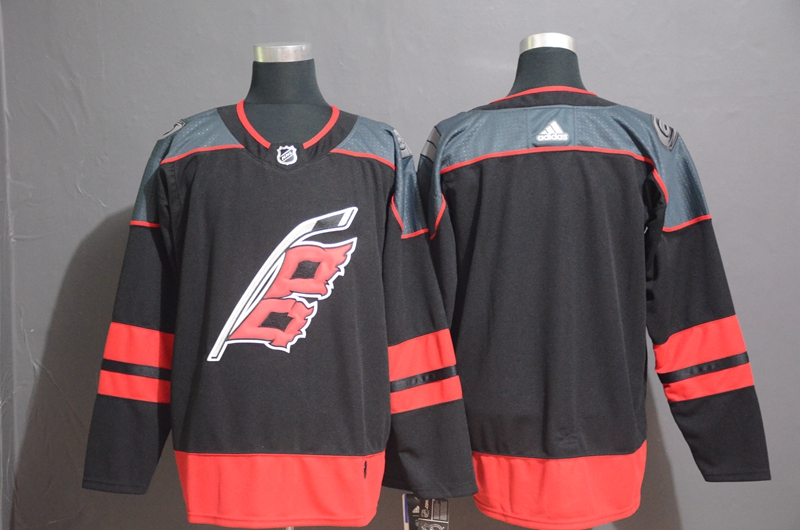 Hurricanes Blank Black Youth Adidas Jersey