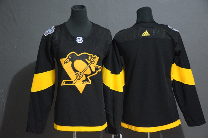 Penguins Blank Women 2019 NHL Stadium Series Adidas Jersey