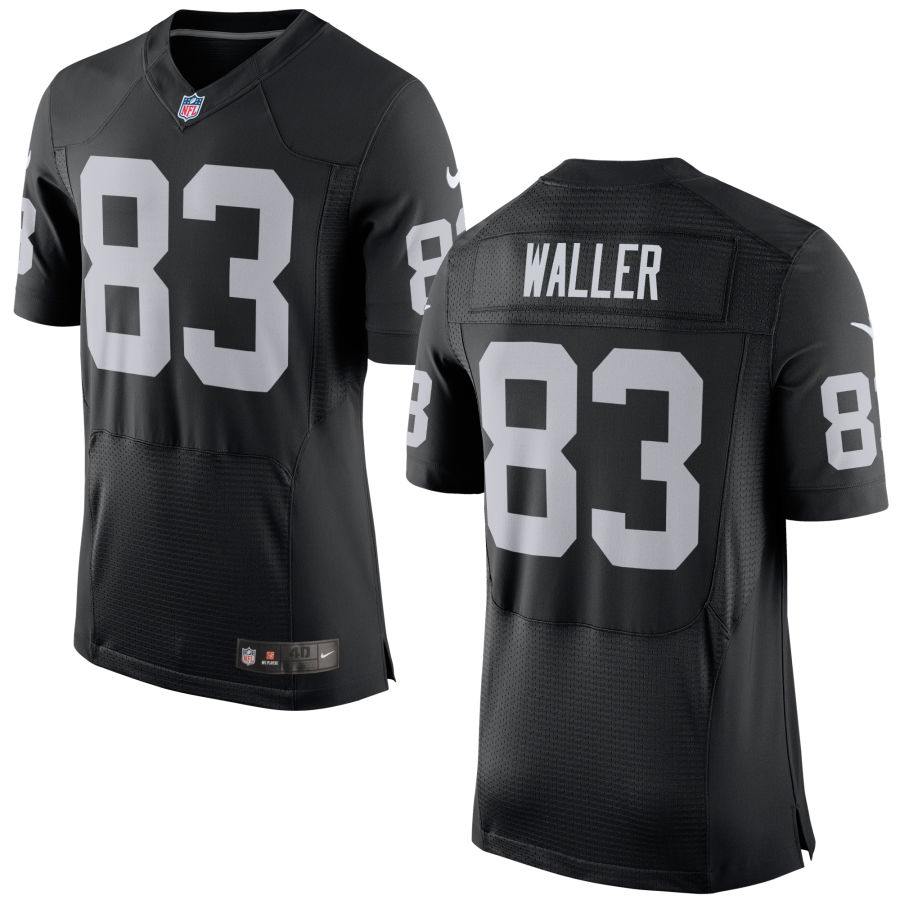Nike Raiders 83 Darren Waller Black Elite Jersey