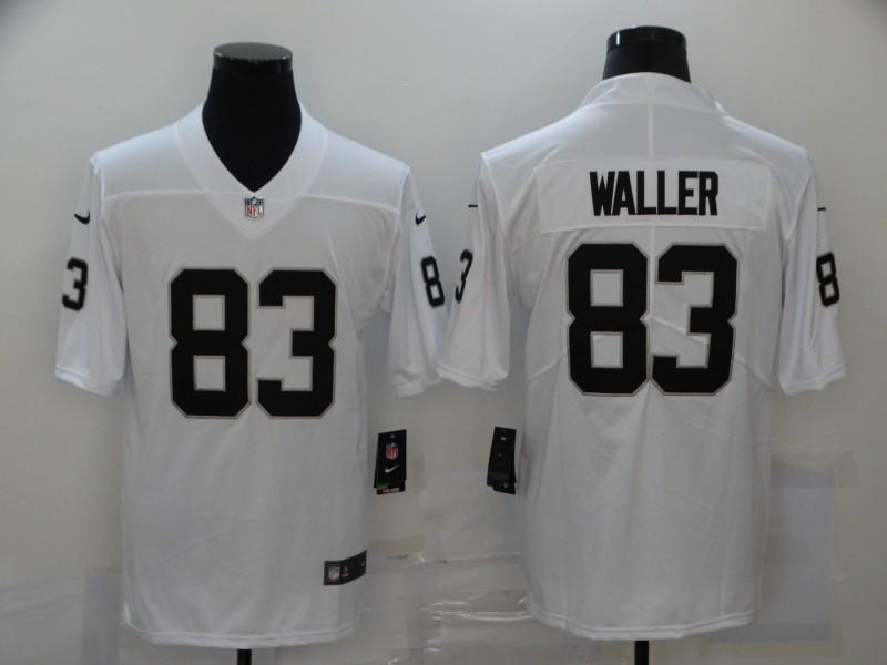 Nike Raiders 83 Darren Waller White Vapor Untouchable Limited Jersey