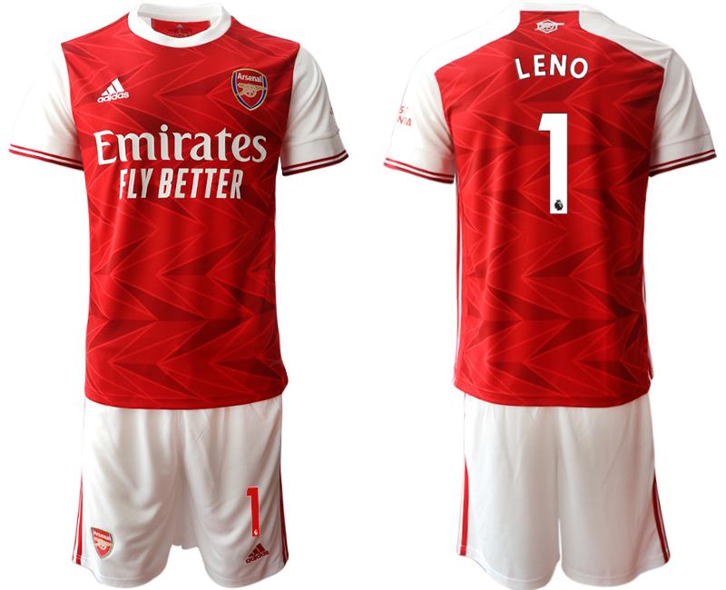 2020-21 Arsenal 1 LENO Home Soccer Jersey