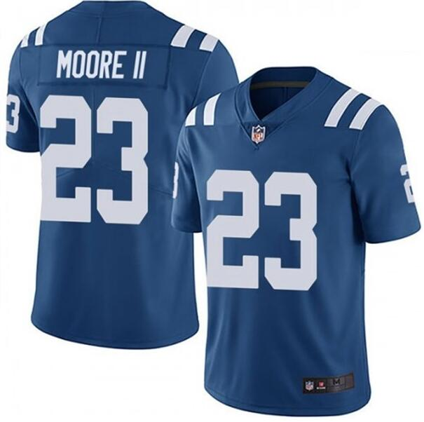 Nike Colts 23 Kenny Moore II Royal Vapor Untouchable Limited Jersey
