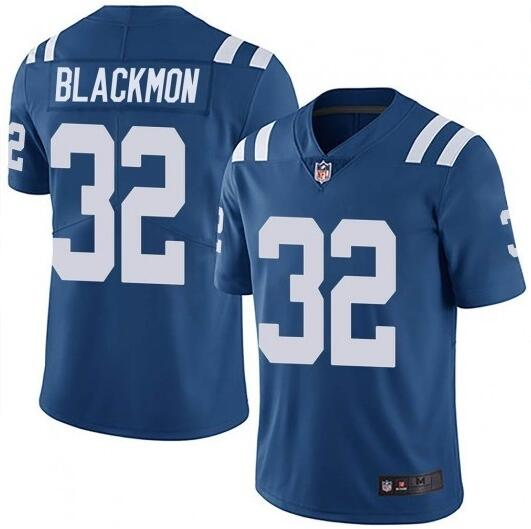 Nike Colts 32 Julian Blackmon Royal Vapor Untouchable Limited Jersey