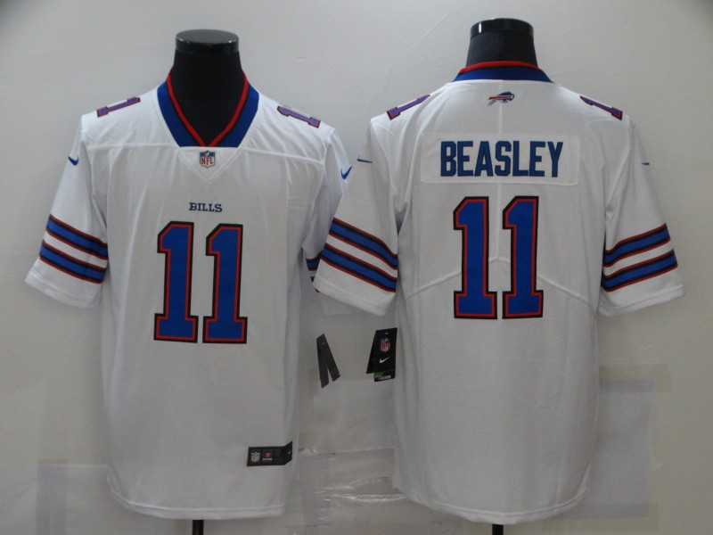 Nike Bills 11 Cole Beasley White Vapor Untouchable Limited Jersey