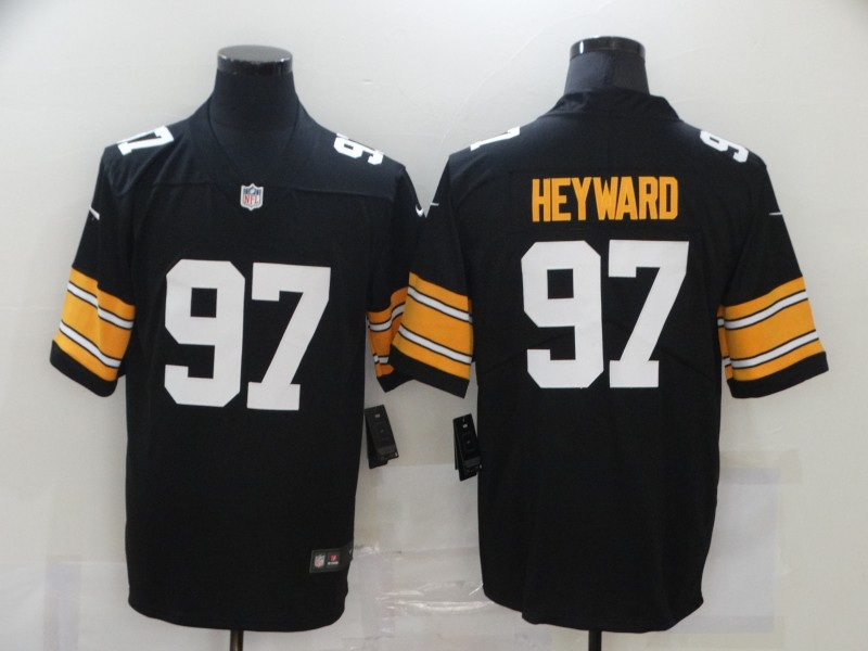 Nike Steelers 97 Cameron Heyward Black Alternate Vapor Untouchable Limited Jersey