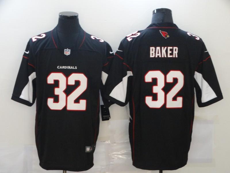 Nike Cardinals 32 Budda Baker Black Vapor Untouchable Limited Jersey