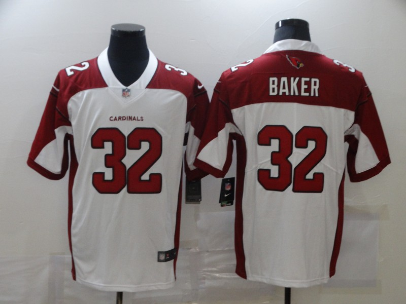 Nike Cardinals 32 Budda Baker White Vapor Untouchable Limited Jersey
