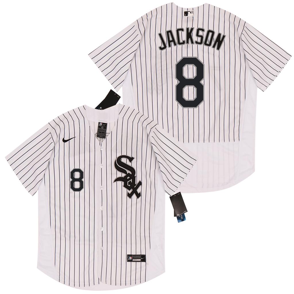White Sox 8 Bo Jackson White 2020 Nike Flexbase Jersey