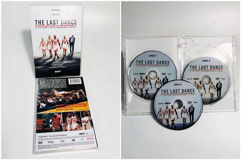 Chicago Bulls Michael Jordan the Last Dance DVD