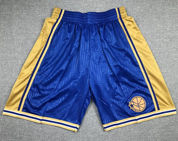 Warriors Blue Swingman Shorts