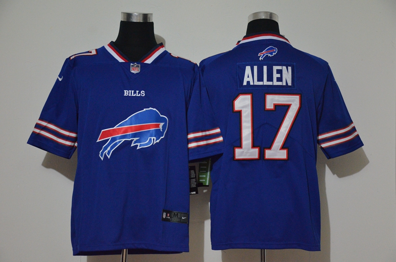 Nike Bills 17 Josh Allen Royal Vapor Untouchable Limited Jersey