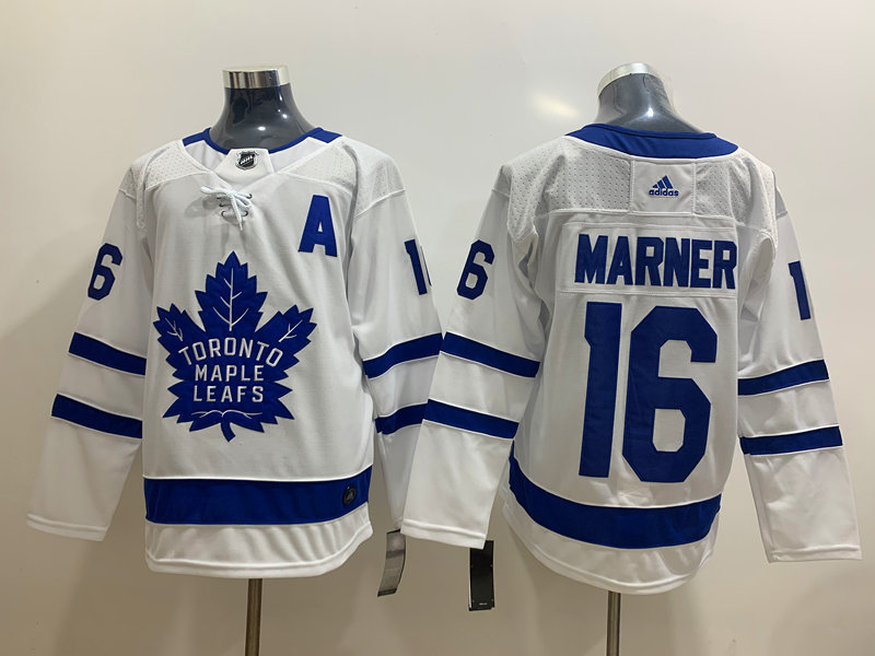 Maple Leafs 16 Mitchell Marner White Adidas Jersey