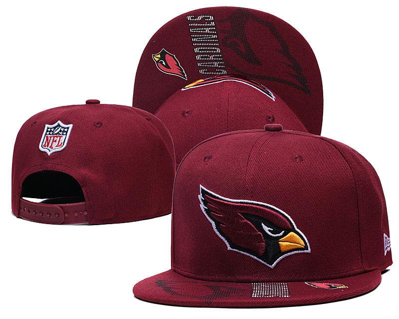 Arizona Cardinals Team Logo Red Adjustable Hat GS