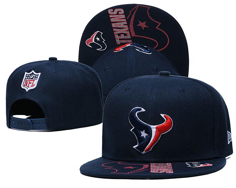 Texans Team Logo Navy Adjustable Hat GS