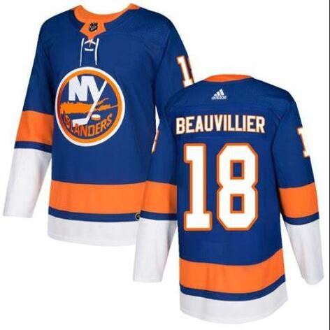 Islanders 18 Anthony Beauvillier Royal Adidas Jersey